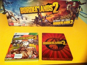 Borderlands 2 Game & Steel Case