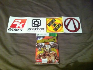 Borderlands 2 Stickers
