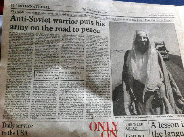 What The Media Used To Say About Osama Bin Laden